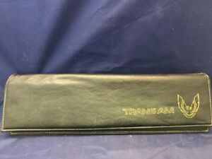 Pontiac Trans Am Leather Dash Pouch Euc A2