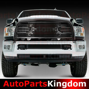 10 18 Dodge Ram 2500 3500 Big Horn Gloss Black Packaged Grille shell Replacement