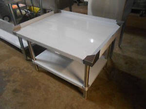 Mix Rite 36 Stainless Steel Equipment Stand With Undershelf Atse 2836
