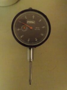 Fowler Dial Indicator Black Face 1 Travel With Gem Mag Base