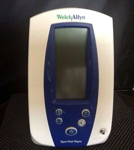 Welch Allyn 4200b N344 Spot Vital Signs Patient Monitor No Cords as Is Kp