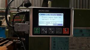 Dnc Transfer Device Micro Dnc Transfer File To Cnc Machine