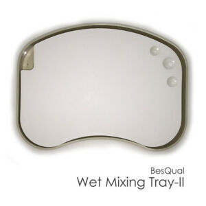 Wet Porcelain Mixing Tray Ii With Case Palette Size 9 0x6 0x0 55 Dental Lab
