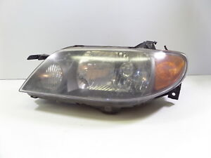 03 Mazdaspeed Protege Msp Stanley Left Headlight Head Lamp Black House Mazda