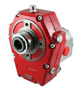 Galtech Hydraulic Pto Gearbox With Group 3 Pump Cast Iron