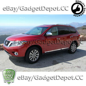 For 2013 2014 2015 Nissan Pathfinder Chrome Mirror Cover W O Turning Lights Cut