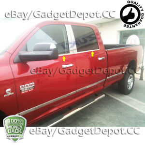 For 2010 2014 2015 2016 2017 Dodge Ram 2500 3500 Stainless Steel Window Sill