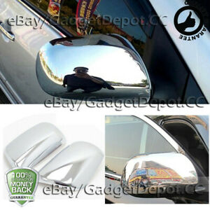 For 2007 2008 2009 2010 2011 Toyota Yaris Chrome Mirror Cover