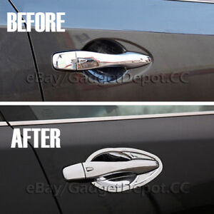 For 2013 2014 2015 2016 2017 2018 Nissan Altima Chrome Door Handle Bowl Covers