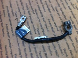 Bmw Battery Negative Black Cable Strap Post To Chassis Ground E46 3 Series
