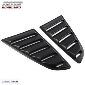 1 4 Quarter Side Window Louver Scoop Cover For Ford Mustang Gt V6 2015 2018