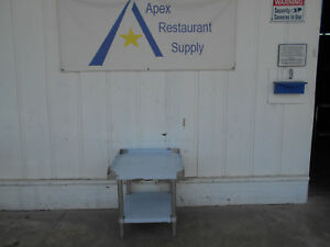 Mix Rite 24 Stainless Steel Equipment Stand With Undershelf Atse 2824