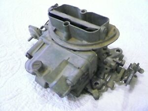 1968 Corvette Tri Power Center Carb For Auto Trans rare Solid Restorable Core