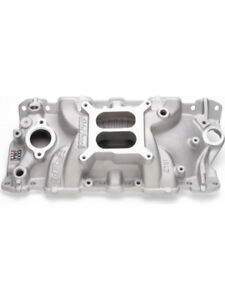 Edelbrock Intake Manifold Performer Eps Square Bore Chevy Sb 2701