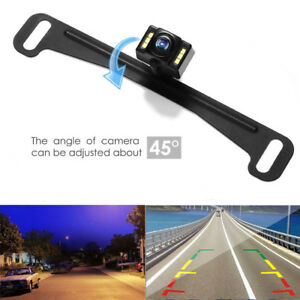 Cmos Waterproof Car Rear View Reverse Backup Camera License Plate Night Vision