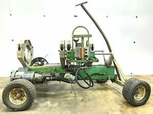 Mcelroy Rolling 28 Fusion Machine Chassis W Jaw Set Assembly 2 8 Hdpe