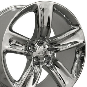 20x10 Wheels Fit Jeep Grand Cherokee Srt Chrome Rims W1x Set