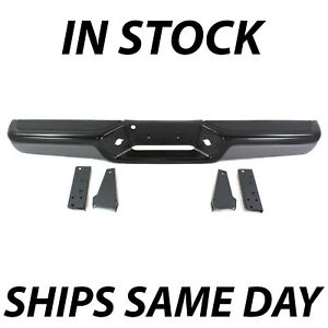 New Primered Steel Bumper Assembly For 1997 2004 Dodge Dakota W Gray Face Pads