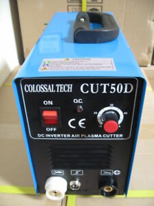 Plasma Cutter 50amp New Cut50d Inverter Dual Voltage Guide 40 Consumables