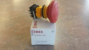 Xn1e bv502mr Idec Emergency Stop Switch Dpst nc On off