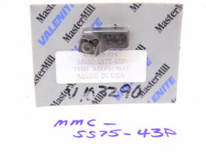New Surplus Carbide Indexable Cartridge For Mastermill Face Mill Mmc ss75 43p