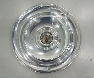 One 1956 56 Chrysler New Yorker 15 Wheel Hub Cap Oem Mopar