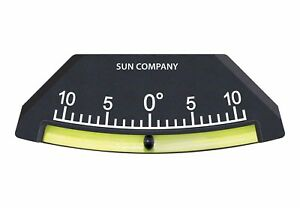 Sun Company Industrial Lev o gage 7 Glass Tube Inclinometer