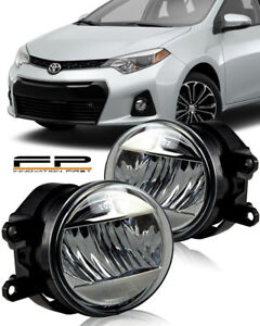 2009 2016 Toyota Corolla Led Clear Lens Replacement Fog Light Housing Assembly