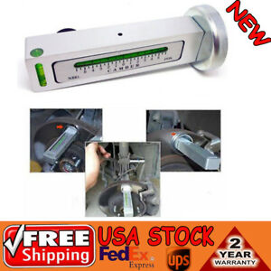 Universal Magnetic Alignment Gauge Castor Strut Camber Scale Wheel Tool Car