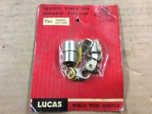 New Lucas Points Distributor Ignition Contact Set Tk2