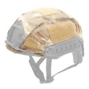 A-Tacs AU Tactical Combat Military Helmet Cover for OPS-CORE Fast PJ MH Type