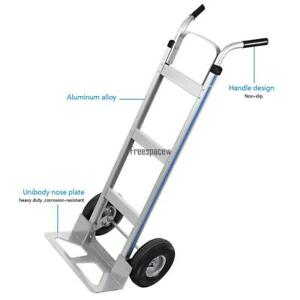 500lb Heavy Duty Stair Climbing Moving Dolly Hand Truck Warehouse Appliance Cart