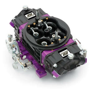 Proform Carburetor 67303 Black Race 850 Cfm Mechanical Secondary Black purple