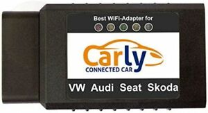 Original Carly Vag Wifi Obd2 Adapter Best App With Iphone New Free Shipping