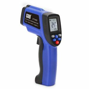 Gbb Infrared Thermometer Non Contact Digital Laser Temperature Gun 50 c 750 c
