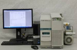 Agilent 5973 N Ei ci Mass Selective Detector Network G1099a With Computer