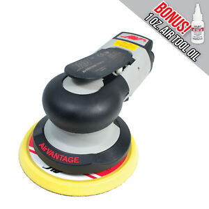 Airvantage Advanced 5 In Random Orbital Sander 3 16 Orbit Hook And Loop Pad