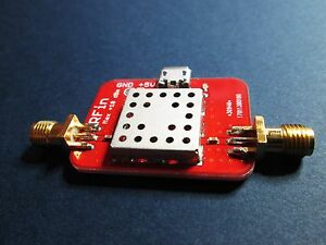 Ultra Low Noise Amplifier Nf 0 5db Gain 40db 0 01 2ghz Lna Operates To 4ghz