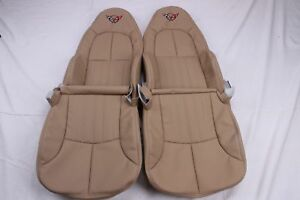 Custom Made 1997 2004 C5 Corvette Real Leather Seat Covers For Standard Seats