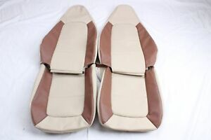 Custom Made 1996 2002 Bmw Z3 Leather Seat Covers For Standard Seats Two Tone