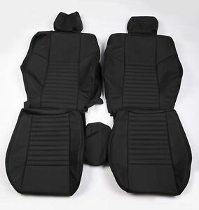 Custom Made 2008 present Dodge Challenger Real Leather Seat Covers Front Only