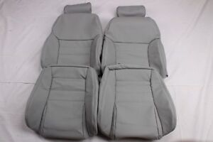 Custom Made Ford 96 98 Sn 95 Modular Svt Mustang Leather Seat Covers Grey Color