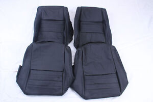 Custom Made 1979 1982 Corvette Real Leather Seat Covers More Color