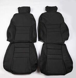 Ford 96 98 Sn 95 Modular Svt Mustang Cobra Real Leather Seat Covers Front Rear