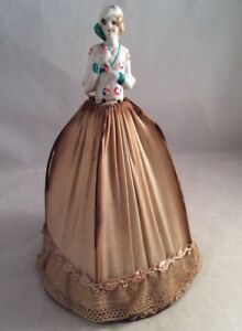 Antique Deco Flapper Lady Lamp Shade