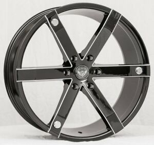 22 Inch Gima 12 Bme Wheels And Tires 08 Ford F150 Navigator Expedition Mark Lt