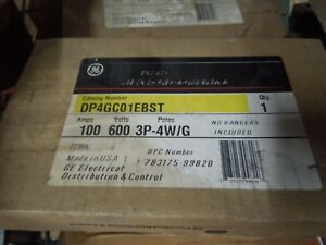 Ge Dp4gc1ebst End Box 100a 3ph 3w Or 4w Dh Flex a power Busway