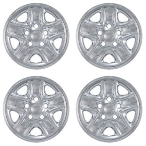 New 2007 2017 Fits Toyota Tacoma Tundra Style 18 Wheel Covers Hubcaps Set Of 4