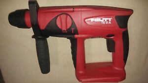 Hilti Te 2 a Hammer Drill 24 Volt Cordless Only Tool used