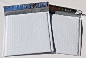 1 2000 Hardshell 7 5x10 dvd Tuff Poly Bubble Mailer Self Sealing Honeycomb Bag